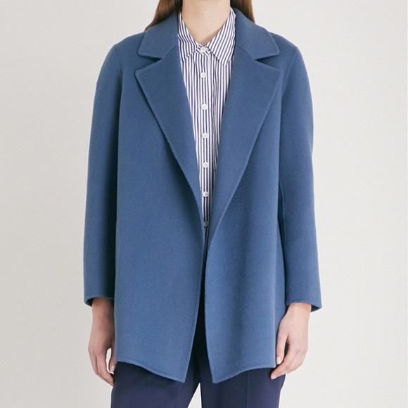 bb68925230 Theory Jackets & Coats | Clairene Wool Cashmere Coat | Poshmark